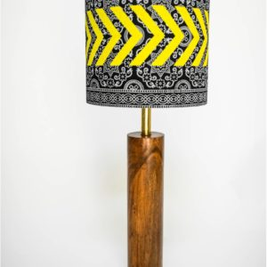 Ajrak Lamp - Black1