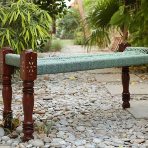 Charpai Bench - Wooden1