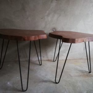 Side Tables - Live edge1
